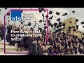 How does it feel to graduate from Warwick Business School?