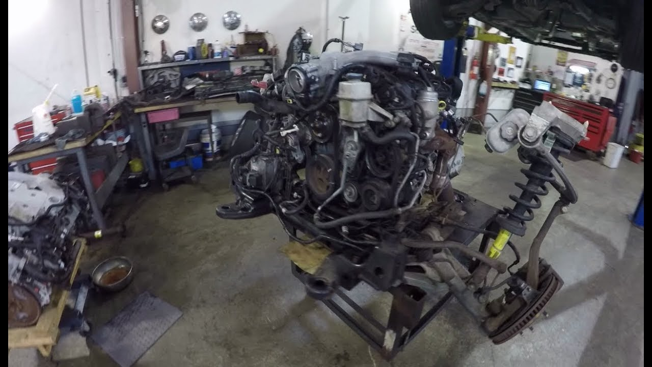 Cadillac CTS Engine Swap The Time Lapse Tech!