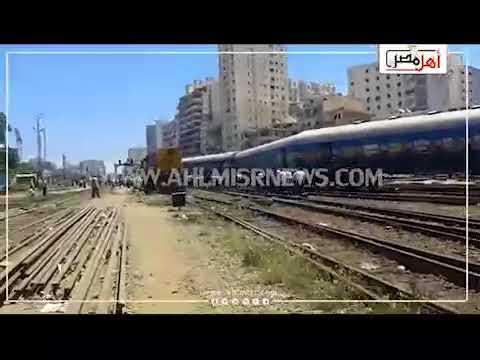 أهل مصر | ننشر أول فيديو للحظة تصادم القطارين في الإسكندرية