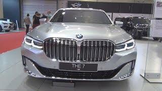 Cover images BMW M760Li xDrive Sedan Pure Metal Silver (2020) Exterior and Interior