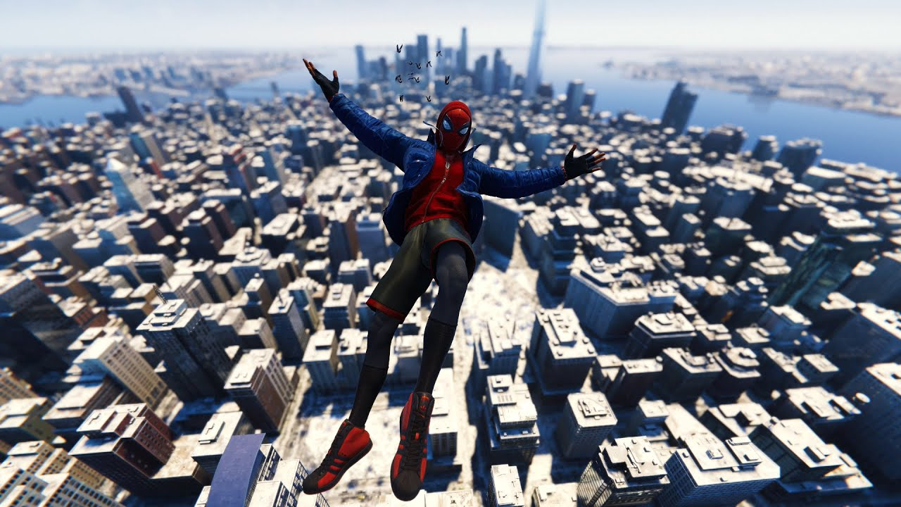Spider-Man Miles Morales - Stylish Free Roam Web Swinging & Epic Combat  Gameplay - YouTube