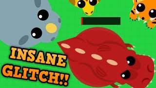 MOPE.IO INSTANT KILL GLITCH! // Massive Mope.io T-Rex Update (Plus Tiger and Giraffe)