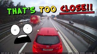 Trucker Dashcam #68 That´s Too CLOSE!!