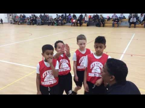 7-year old Phoenix Gill hits the game winning shot in the last 3 seconds.