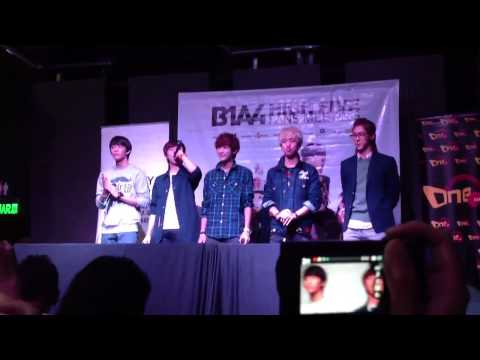 120930 - B1A4 high 5 fan meeting in Malaysia