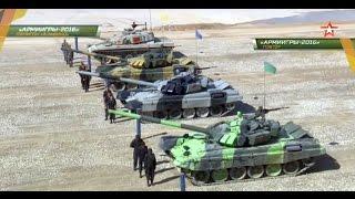 "International Army Games August 9, 2016 ""Tank Biathlon"" Relay Race Semi Finals 1"