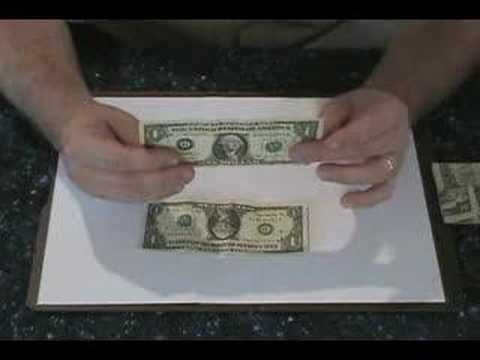 How to perform the two dollar trick