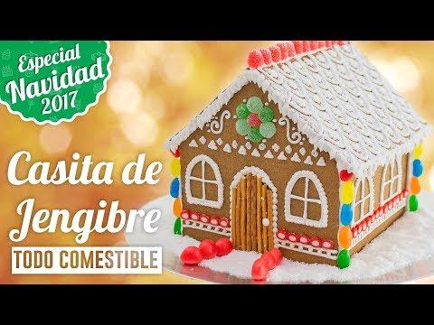 CASITA DE GALLETAS DE JENGIBRE  | ESPECIAL NAVIDAD | Quiero Cupcakes!