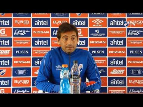 Conferencia de prensa de Ligüera el  25/10/2016