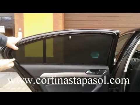 Cortinas tapa sol para carros vw volkswagen passat b8 - Cortinas para el sol ...