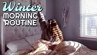 WINTER MORNING ROUTINE (vlog style)
