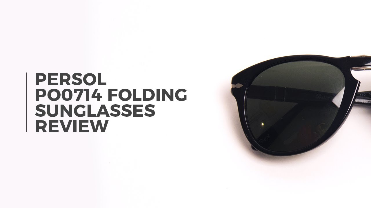 6d2537fda6 Persol PO0714 Folding Sunglasses Review