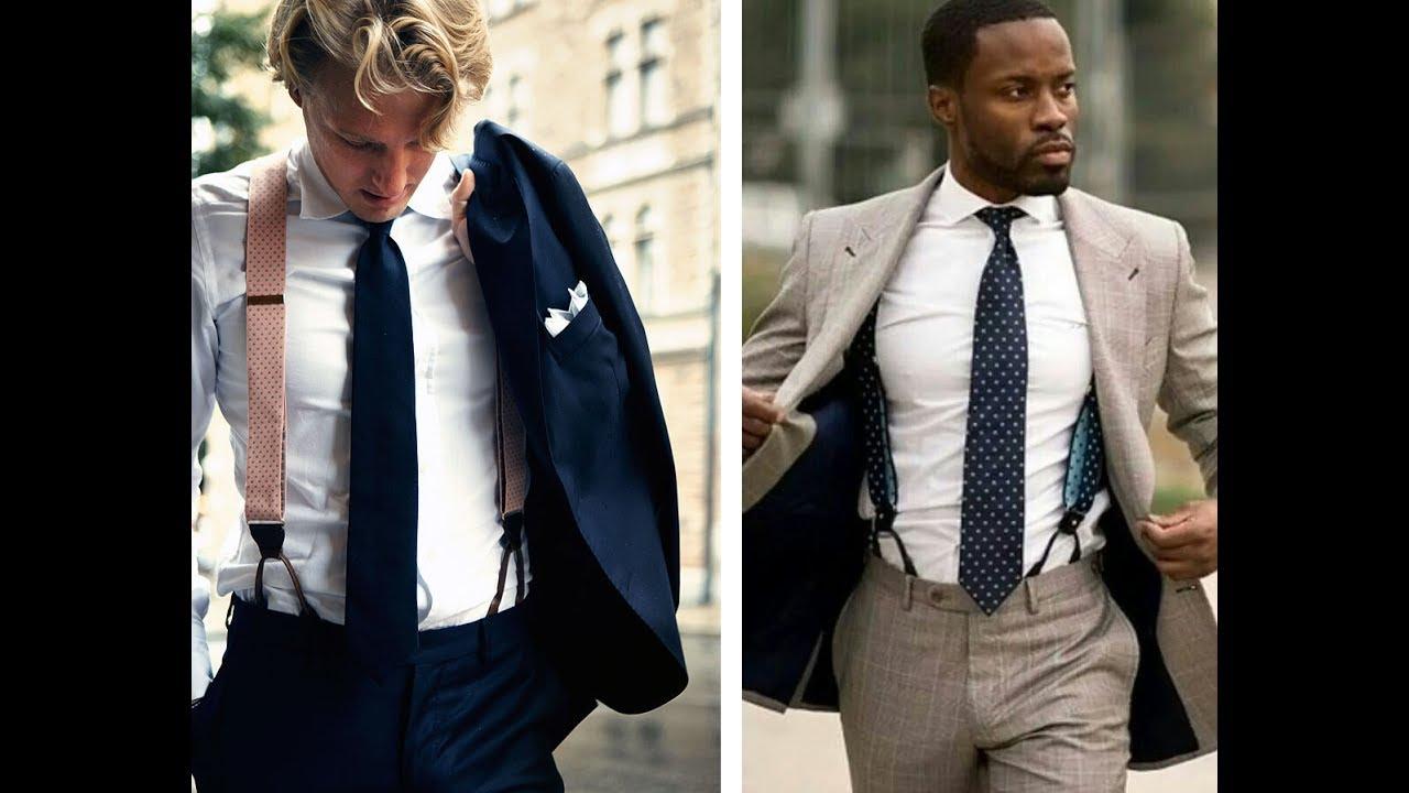 e93b4f1b6b02 Men s Suspenders   Braces - Men s Style Tips - YouTube