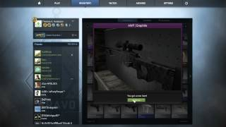 CS:GO Trade Up Contract for a AWP | Graphite (Factory New)