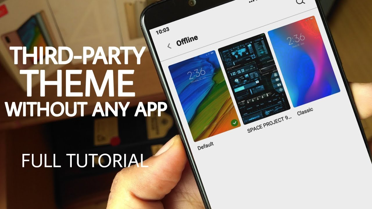 Install Third Party Theme on MIUI 10 | Themes from Third Party Source not  supported error 402