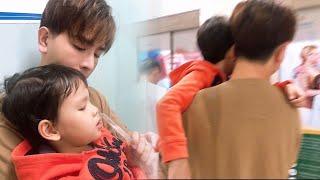 Con trai Thu Thủy nhập viện, Kin Nguyễn lo sốt vó cả đêm,có hành động cực ấm lòng..!