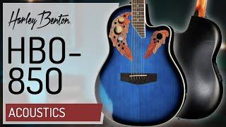 Harley Benton - HBO-850 - Roundback Acoustic -