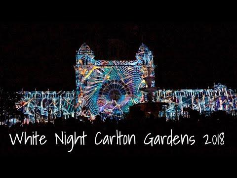White Night: Carlton Gardens, Melbourne 2018