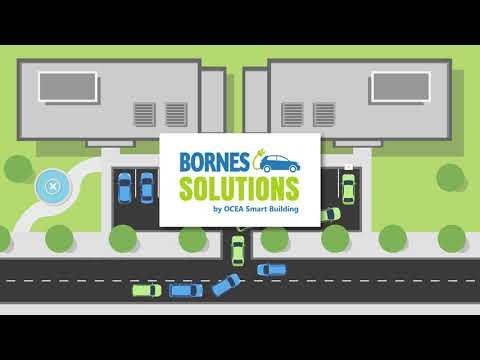 Bornes Solutions by OCEA Smart Building : expert dans la borne de recharge pour véhicule électrique