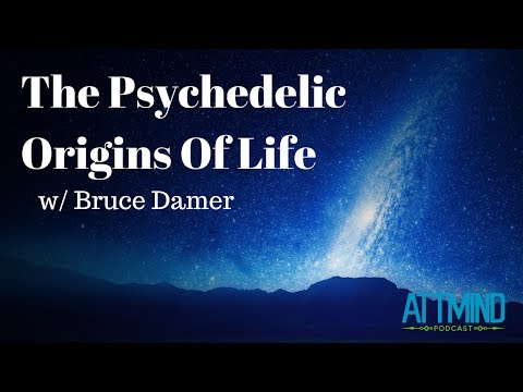 The Psychedelic Origins of Life (Part 1) | Interview with Bruce Damer | ATTMind Ep. 49