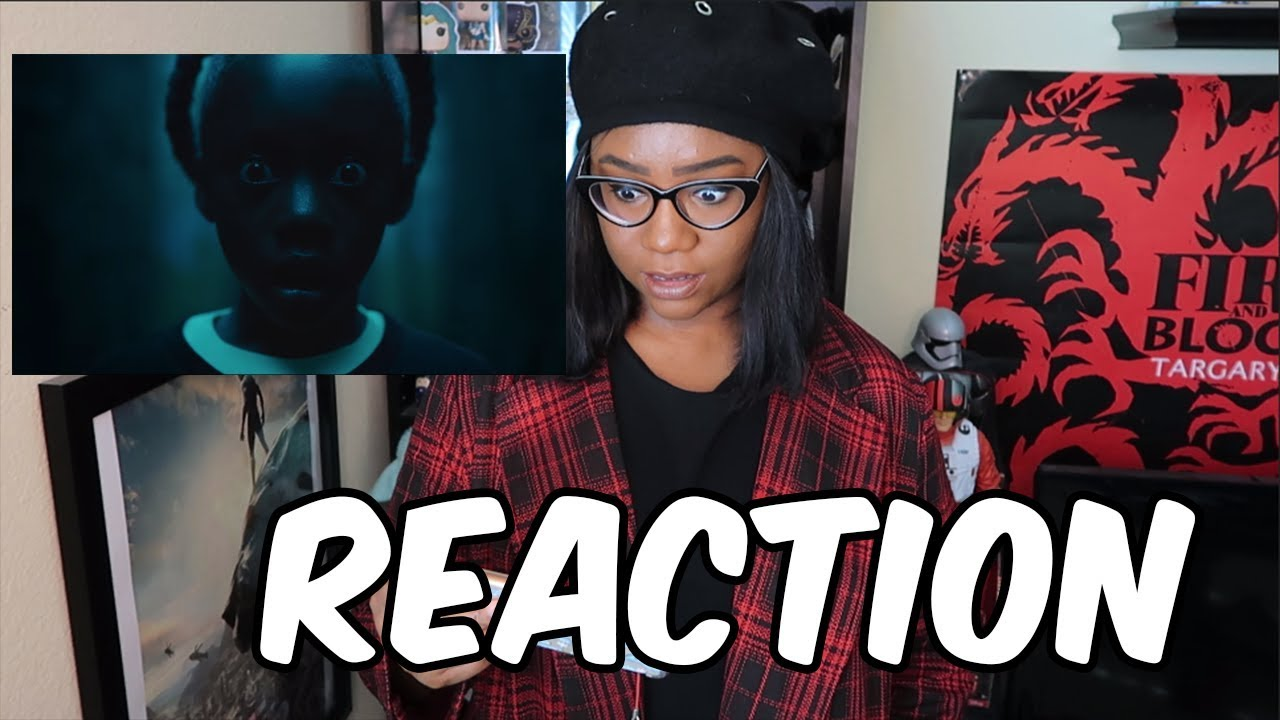 REACTION: US TRAILER | MY CLONE IS COMING TO MURDER ME