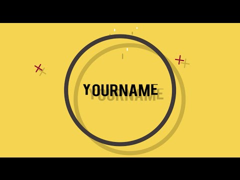 FREE 2D smooth Intro Template #4 | Logo & Text Version | After ...
