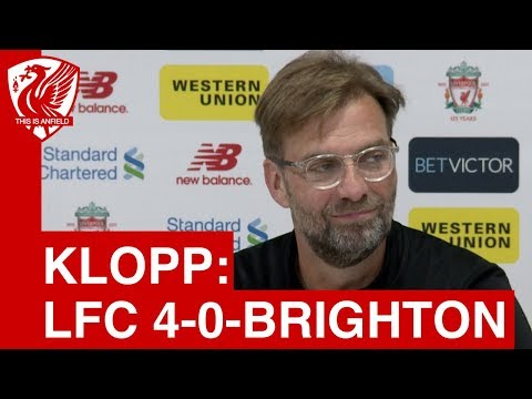 Liverpool 4-0 Brighton | Jurgen Klopp Post-Match Press Conference