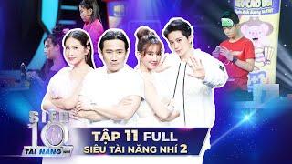 SIÊU TÀI NĂNG NHÍ 2 - BÁN KẾT 1 | Trấn Thành, Hari Won công bố TOP 10 SIÊU TÀI NĂNG NHÍ gây bất ngờ