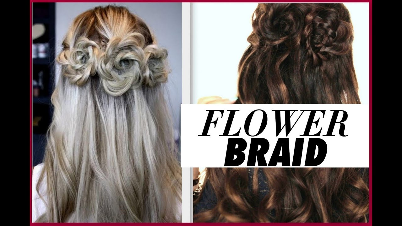 ☆FLOWER BRAID HAIR TUTORIAL