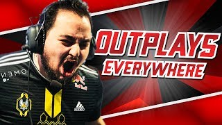 OUTPLAYS EVERYWHERE! | WORLDS FUN/FAIL WEEK ONE MOMENTS