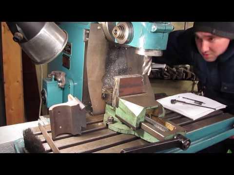 Изготовление кронштейна маточной гайки 1к62. Часть 1.