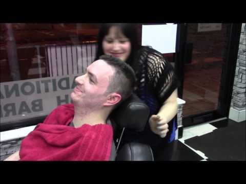 Nathan123 barber shop pamper - haircut / shave plus i get pampered too!