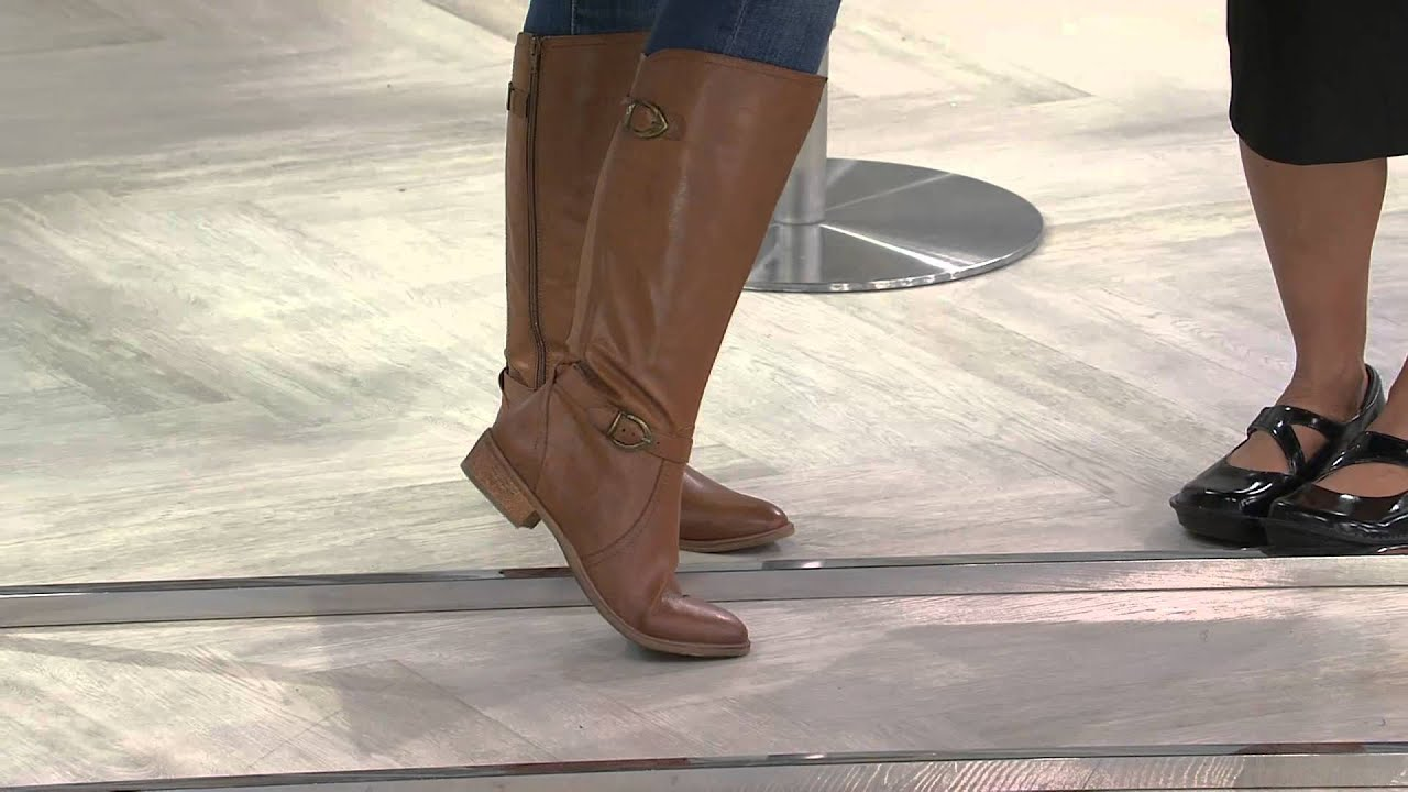 dd0c3b43ef4 BareTraps Tall Shaft Boots with Buckles - Tommy with Amy Stran - YouTube