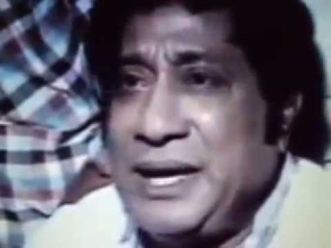 Sivaji Feel about M.G.R Death