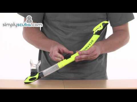 Oceanic Ultra Dry Snorkel - www.simplysnorkel.com