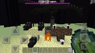 ĐIỀU GÌ XẢY RA KHI TRIỆU HỒI ENDER DRAGON VÀ ENTITY 303 VÀ RỒNG 3 ĐẦU(HYDRA) | Minecraft PE 1.0.4.1