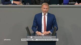 Generaldebatte: Rede von Christian Lindner am 11.09.19