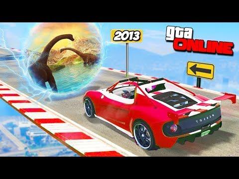 ДОБРО ПОЖАЛОВАТЬ В 2013 ГОД! ЭТО САМЫЕ СТАРЫЕ ГОНКИ В GTA 5 ONLINE