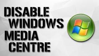 Window Media Center Windows 7