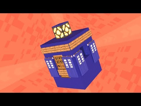 Minecraft Tardis Tutorial With Different Console Rooms, Dematerialisation Effect And Other Features