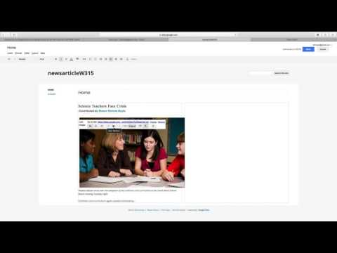 Introduction to Google Sites, Images, and SEO