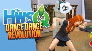 SIMS 4: HWSQ 💛 037: Dance Dance Revolution