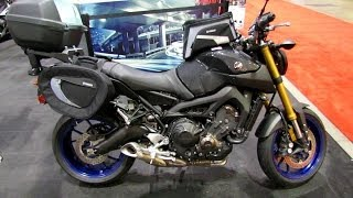 2014 Yamaha FZ-09 Accessorized Walkaround - 2014 Toronto Motorcyle Show