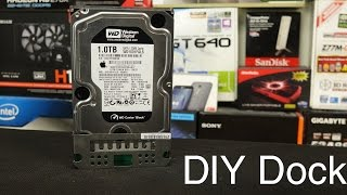 DIY Hard Drive Reader