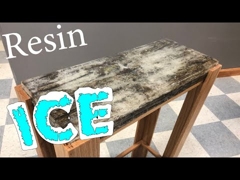 Making a Resin Ice Table // How To Builds