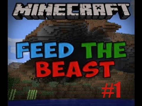 Let's play Feed The Beast - Episode 1 - Les base des base de ftb