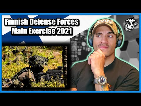 Marine reacts to Finnish Defense Forces Main Exercise 2021