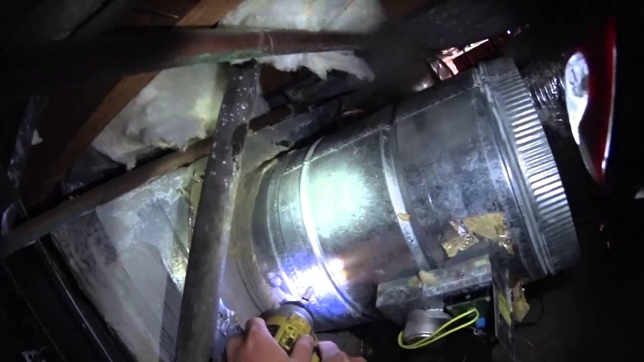 HVAC Service: Zone Damper Replacement