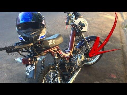 PREPAREI O MOTOR DA MINHA MOBY!