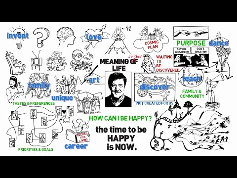 """How can I be happy?"" Narrated by Stephen Fry - That's Humanism!"